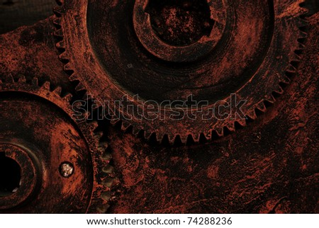 Old plant machinery and equipment