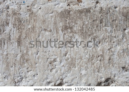 Old plaster wall detail for Background or Texture