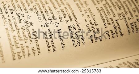 Old Polish dictionary, photo 8