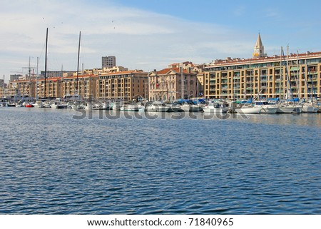 Old port of Marseilles, Provence, France