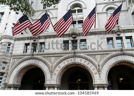 Old Post Office building, Washington DC, United States
