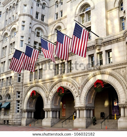 Old Post Office building, Washington DC United States