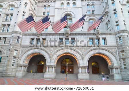 Old Post Office building, Washington DC United States - stock photo