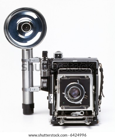 Old Press Camera