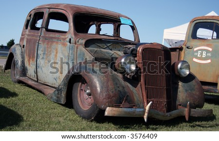 Old Rat Rod