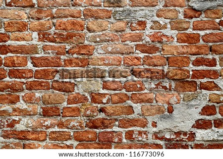Old Red Brick Texture