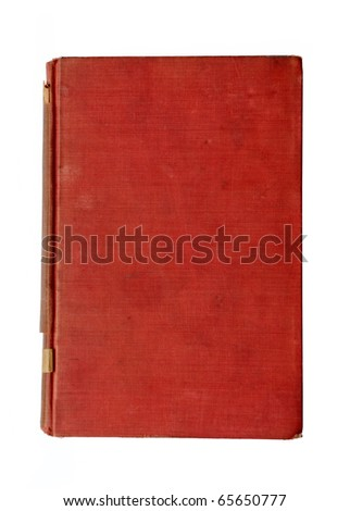 Old red notebook
