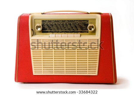 Old red radio