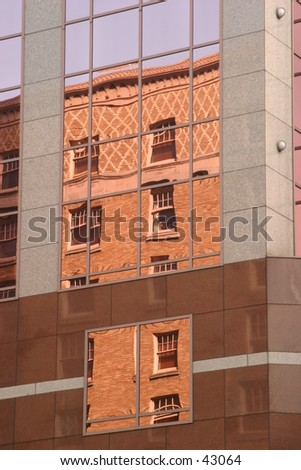 Old reflected in the new