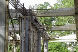 old Reinforced Concrete structure
