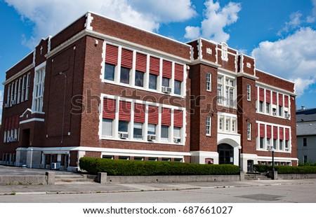 Old Renovated Catholic School