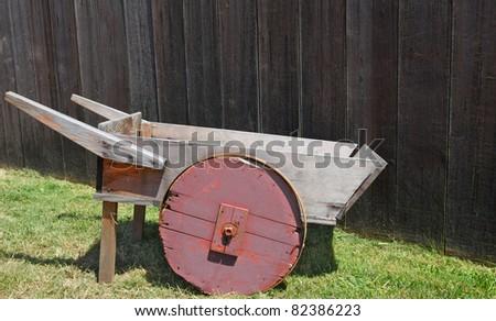 Wooden Wheelbarrow Wheels