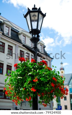 Old Riga in summertime, Latvia