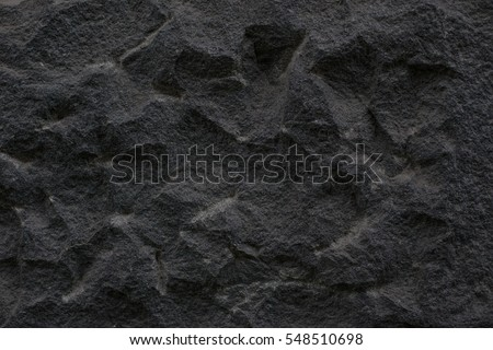 old rock black wall. vintage...