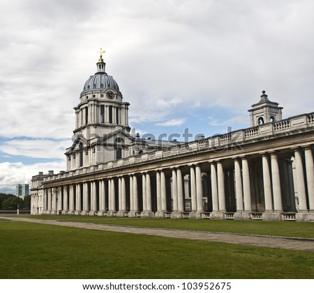 Old Royal Naval College. Greenwich, London, UK