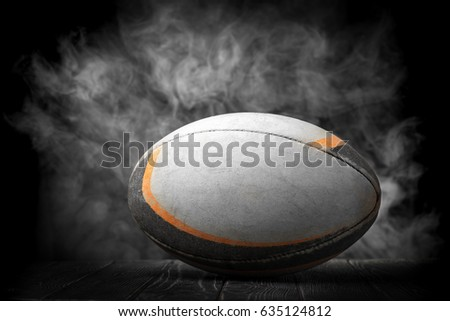 Old rugby ball #635124812