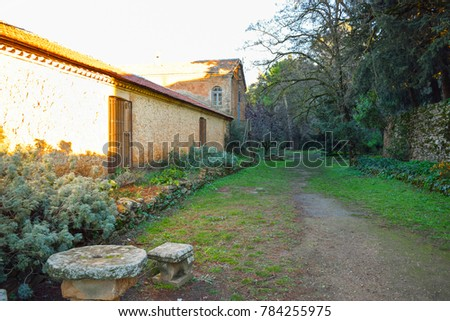 Old rural house #784255975