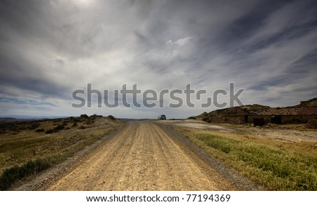 Old rural road