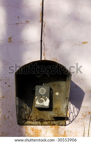 old russian phone