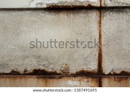 Old rust texture. Grunge abstract background