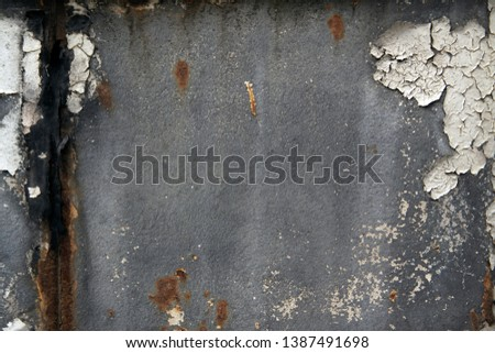 Old rust texture. Grunge abstract background. Dirty wallpaper
