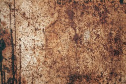 Old rust texture.Grunge background. Distressed wallpaper