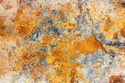 Old rust texture. Grunge rusted metal background.