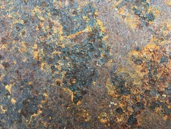 Old rusted steel plate,old zinc sheet texture,surface and background
