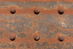 old rusted steel - rusty metal texture / rust texture