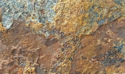 Old rusted steel sheet surface, Rusty background, Rough background