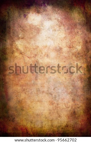 Textured Wallpaper on Old Rustic Vintage Textured Paper Wallpaper Background Stock Photo
