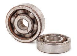 Old rusty bearings