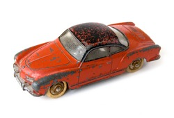 Old rusty car toy