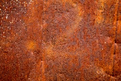 Old rusty metal surface background.