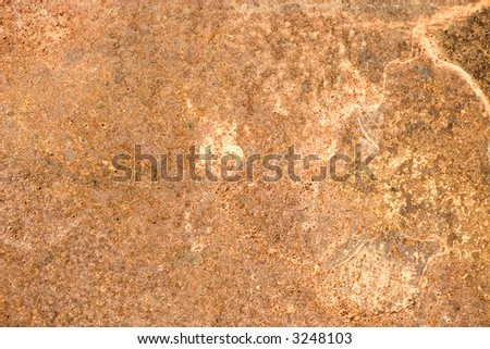 Old rusty metal surface. Texture or background. - stock photo