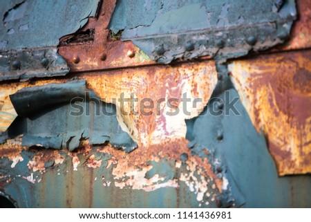Old rusty parts #1141436981