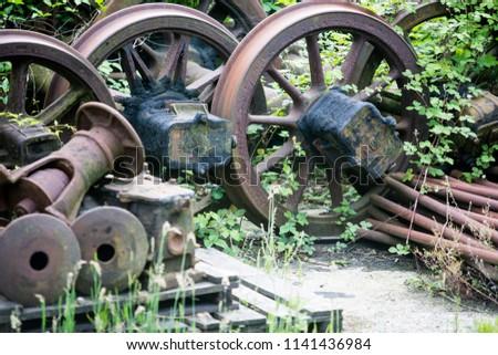 Old rusty parts #1141436984