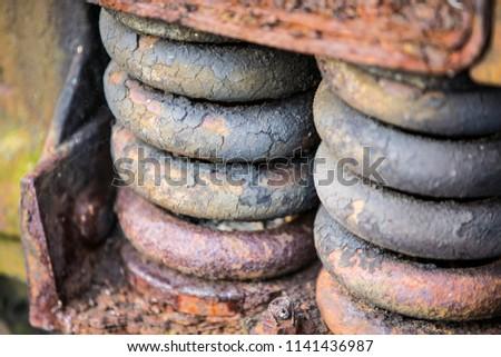 Old rusty parts #1141436987