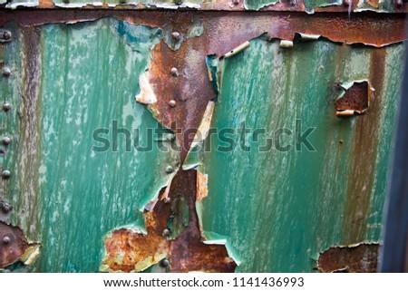Old rusty parts #1141436993