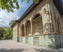 Old Saadabad Palace built by the Pahlavi dynasty of Iran in the Shemiran area of Tehran as official residence of the President of Iran. Tehran, Iran.