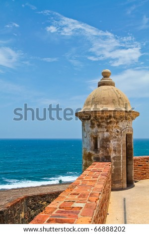Old San Juan in Puerto Rico : One of the oldest city of the new world.