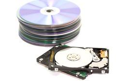 Old SATA and cd Hard Disk Drives