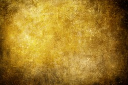 Old scraped golden background or texture