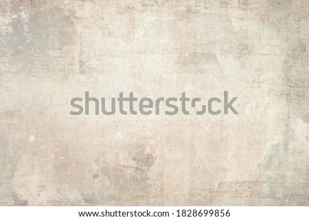 OLD SCRATCHED PAPER TEXTURE, TORN WALLPAPER BACKGROUND Foto stock ©
