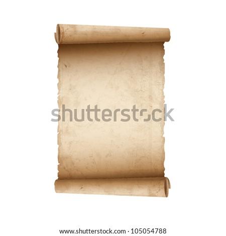 Old Scroll paper.Raster version