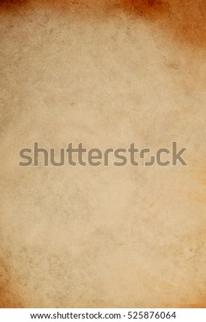 Old sheet paper background texture - Shutterstock ID 525876064