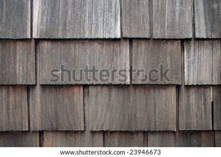 Old Shingle Siding Background