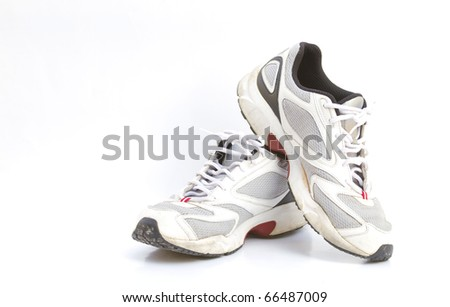 Old shoes and exercise.