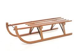 old sled wooded vintage schlitten holz