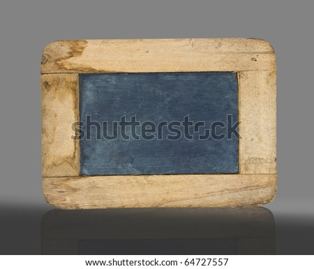 old small blackboard